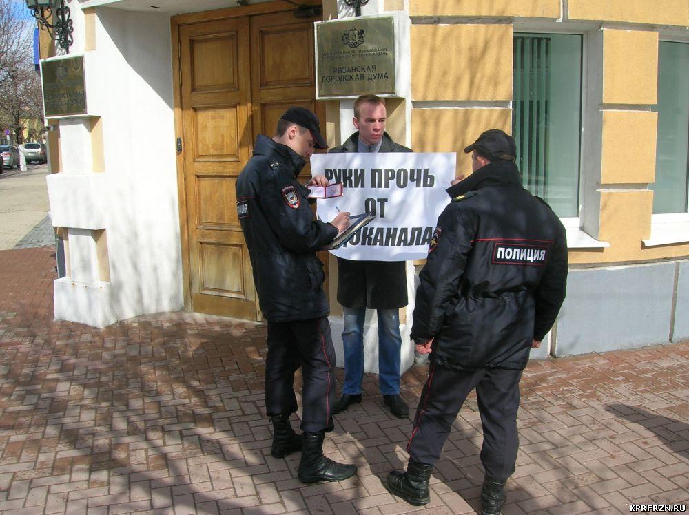 В Рязани «темнят» с концессионером «Водоканала»