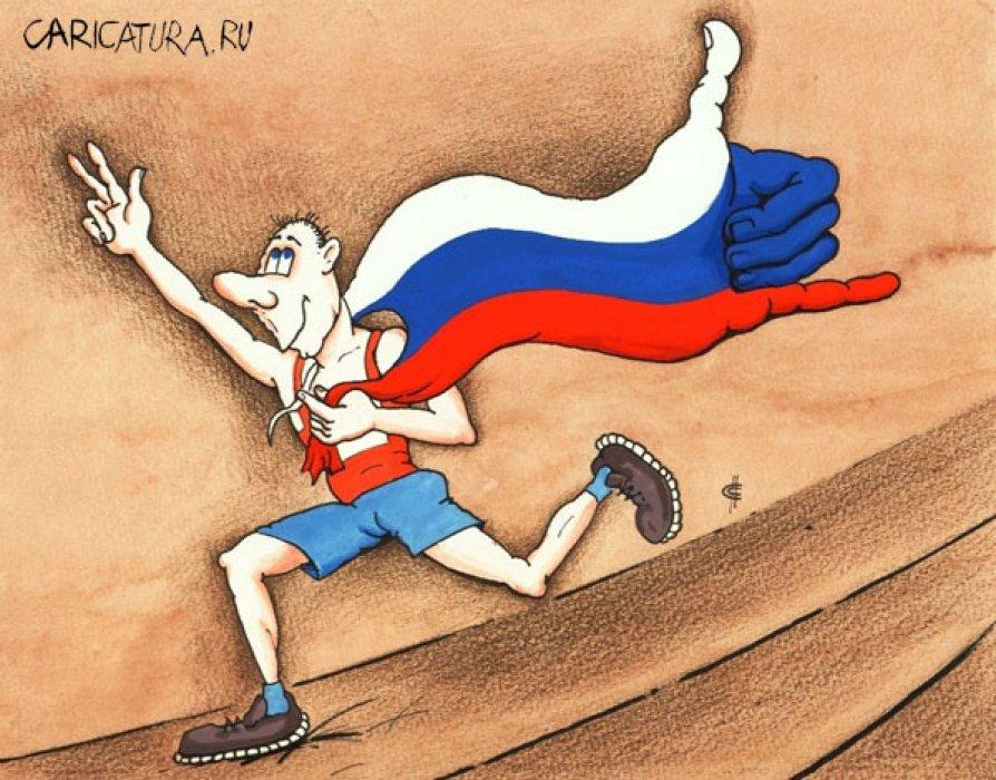 Россия, блин, вперед! Сатирические записки Михаила Задорнова