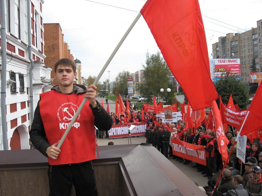 Красный десант в Тамбове. Фоторепортаж
