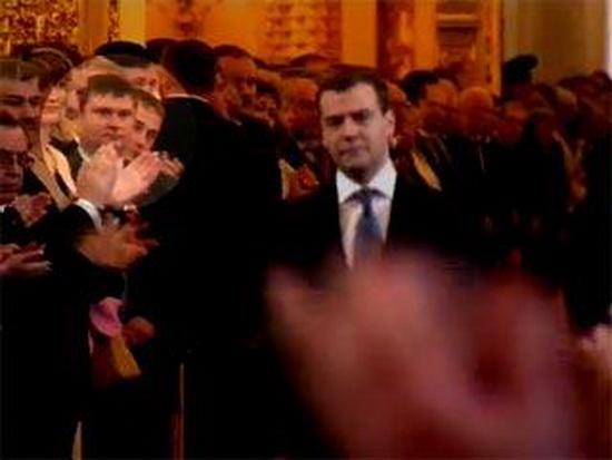 СМИ обсуждают был ли главарь кущевской ОПГ депутат-единорос Цапок вместе с губернатором Ткачевым в числе почетных гостей на инагурации Медведева
