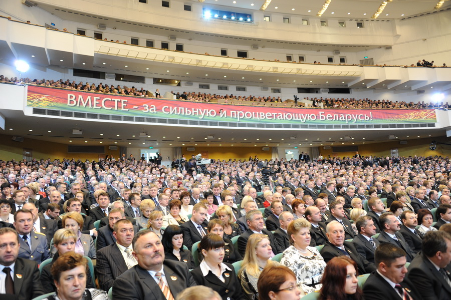 Г.А. Зюганов на Всебелорусском народном собрании: Белоруссия сегодня - это сражающаяся Брестская крепость!