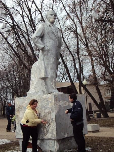 Ремонт памятника в Железнодорожном районе Рязани