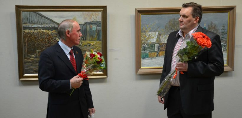 24 ноября открылась выставка Александра Трухина