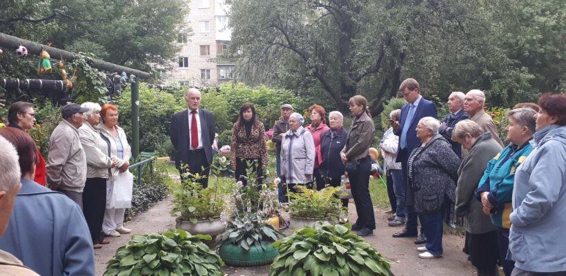 Кандидат в Губернаторы от КПРФ В.Н. Федоткин продолжает проводить встречи с избирателями