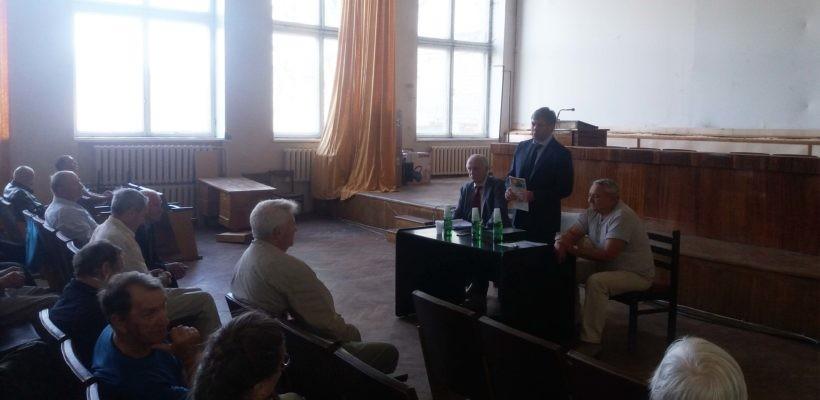 Рабочая встреча депутата Госдумы Русских А.Ю. на Рязанской земле