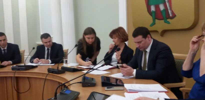 В Рязанской городской Думе обсудили проект бюджета