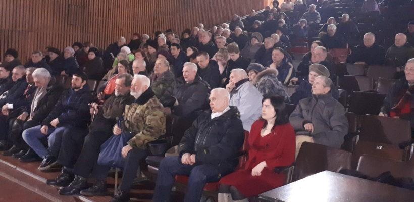В Рязанском КДЦ «Октябрь» зал скандировал «Грудинин!»