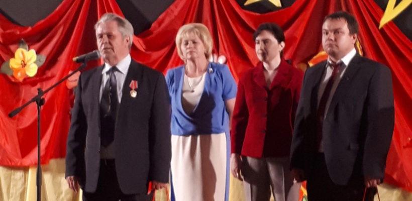 Рязанские коммунисты чествуют ветеранов