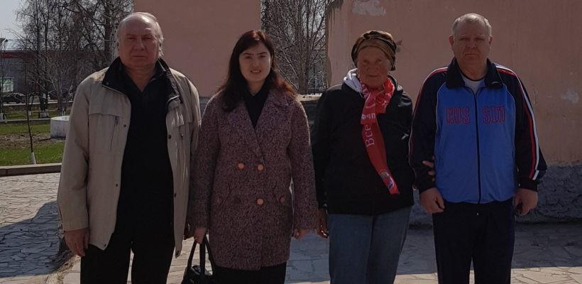 Рабочая поездка секретаря обкома Эвелины Волковой в Сапожковский район