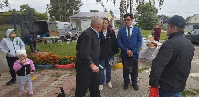 Коммунисты Рязани продолжают «красные» выезды в Рыбновский район