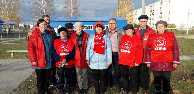 Клепиковские коммунисты приняли участие в акции «Сад Победы – Сад Жизни»