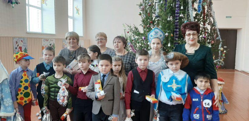 Депутат Рязанской областной Думы Галина Гнускина провела новогодний праздник в Кущапино