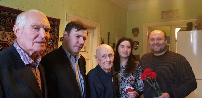 Рязанские коммунисты навестили ветерана Великой Отечественной войны
