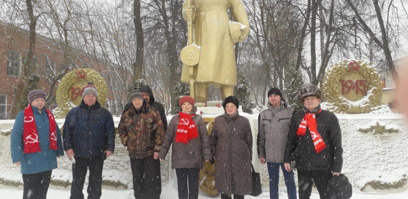 День Советской Армии и Военно-Морского Флота в Клепиках