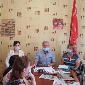 Коммунисты Сараевского и Чучковского районов выдвинули своих кандидатов в органы местного самоуправления