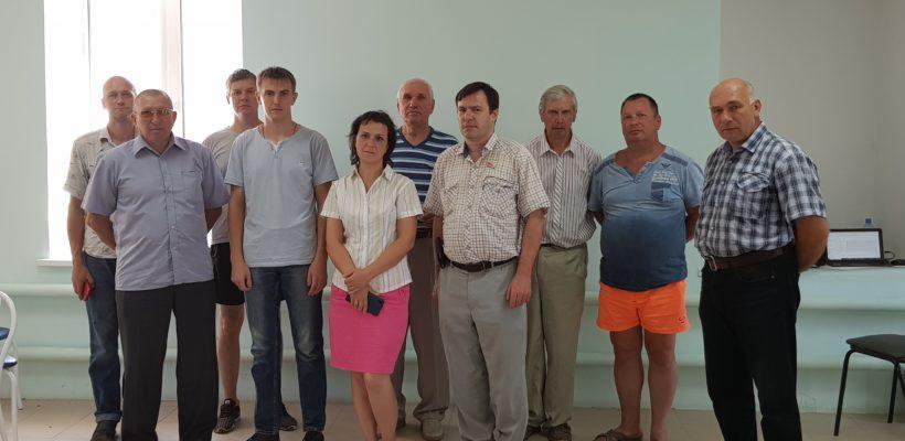 Касимовские коммунисты участвуют в выборах в органы местного самоуправления