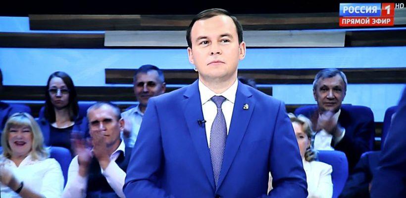 Юрий Афонин в эфире «России-1»: Проекты, подобные Крымскому мосту, должны реализовываться по всей стране