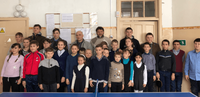 Касимовские коммунисты посетили Крюковскую общеобразовательную школу