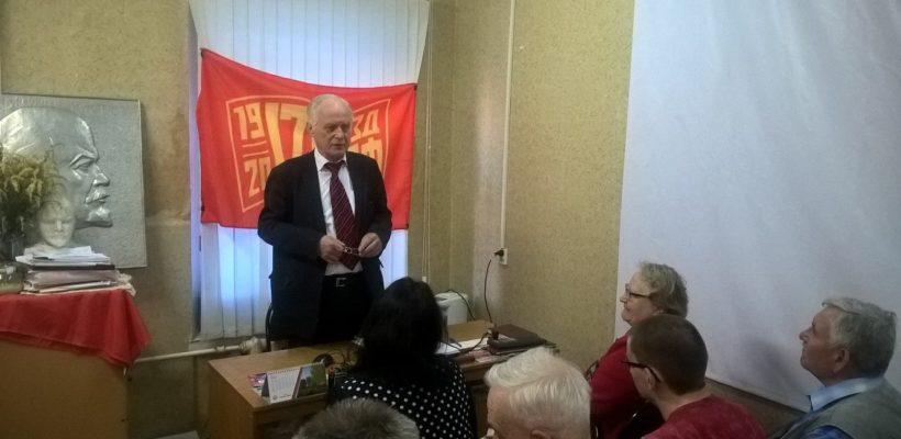 В.Н. Федоткин встретился с коммунистами Советского района