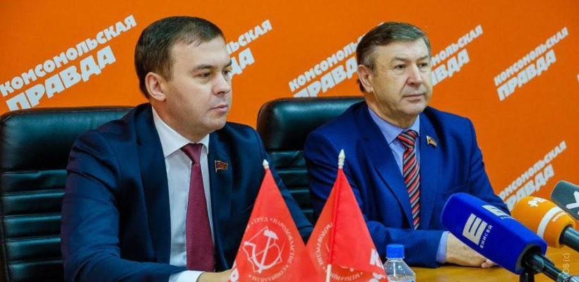 Красноярск. Встреча Ю.В. Афонина в «Комсомолке»