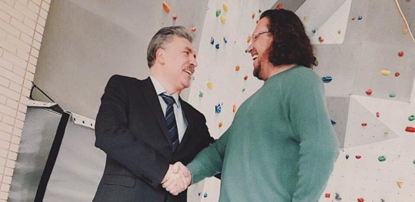Сергей Полонский поддержал Павла Грудинина: «России нужен именно такой Президент»