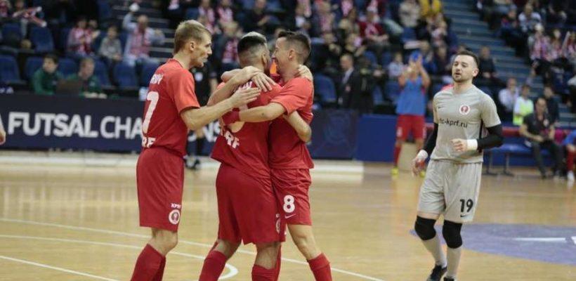 Четвертая подряд победа МФК КПРФ! Рязанская делегация на матче Лиги чемпионов