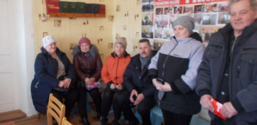 Столетие Красной Армии в Чучково
