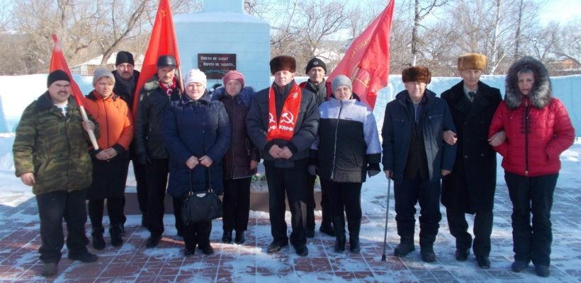 Вековой юбилей Красной Армии рязанские коммунисты встретили серией массово-политических акций