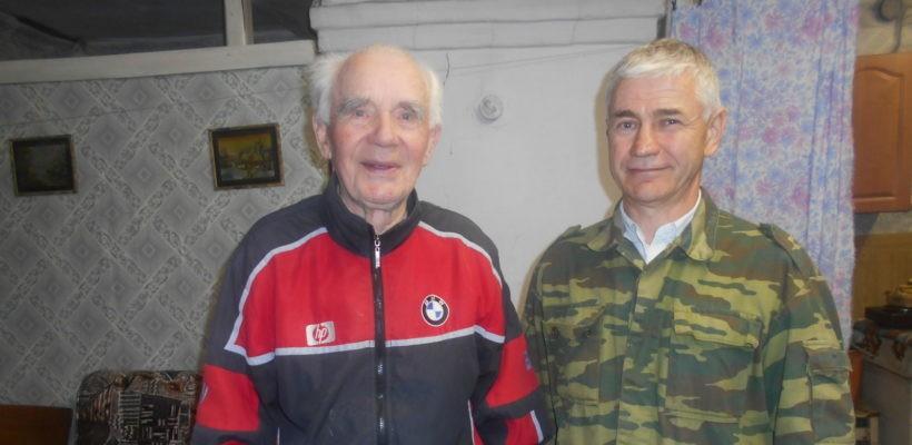 Клепиковские коммунисты во главе с первым секретарём поздравили ветеранов партии с Днем пожилого человека