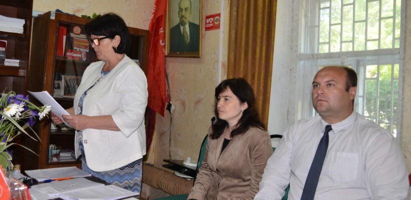 Состоялась XLII отчётно-выборная конференция в Клепиковском районном отделении КПРФ