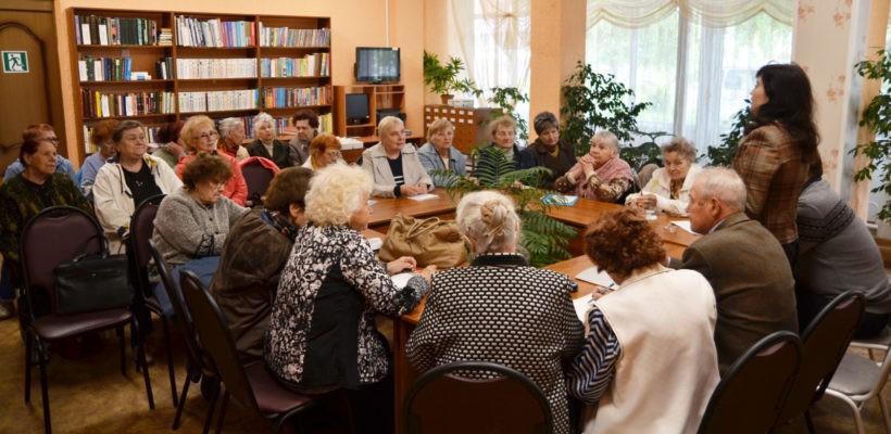 Депутаты-коммунисты встретились с ветеранским активом Железнодорожного района