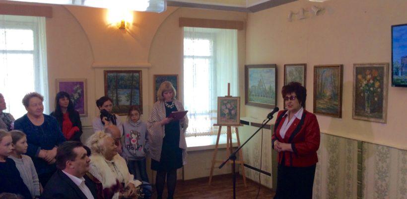 11 мая в краеведческом музее города Сасово прошёл юбилейный вечер члена союза художников Росиии