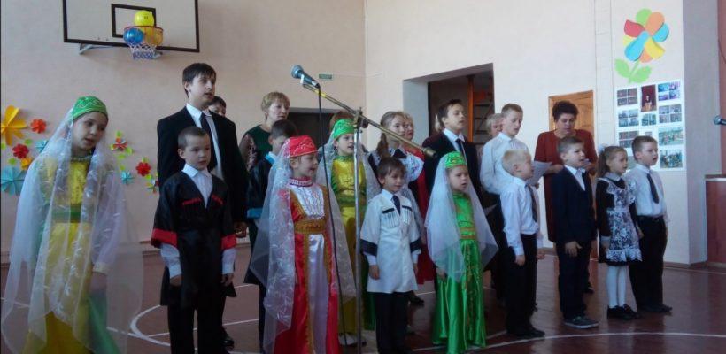 И снова юбилей. Кущапинской школе 110 лет!