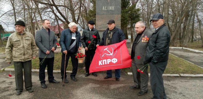 День рождения В.И. Ленина в Шацке
