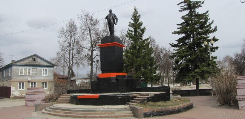 Подготовка к Дню Рождения В.И. Ленина в Касимове