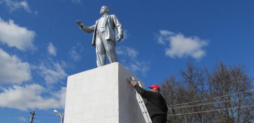 Ленинский субботник в посёлке Елатьма