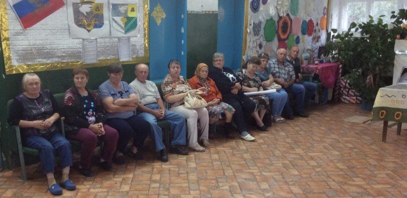 В Сасовском районе жители выступили против повышения пенсионного возраста