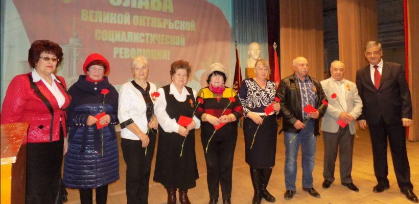 101-я годовщина Великого Октября в Сасово