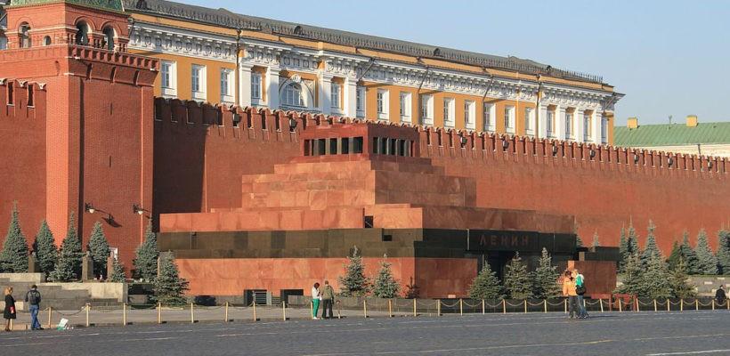 Мавзолей Ленина в очередной раз хотят задрапировать ко Дню Победы