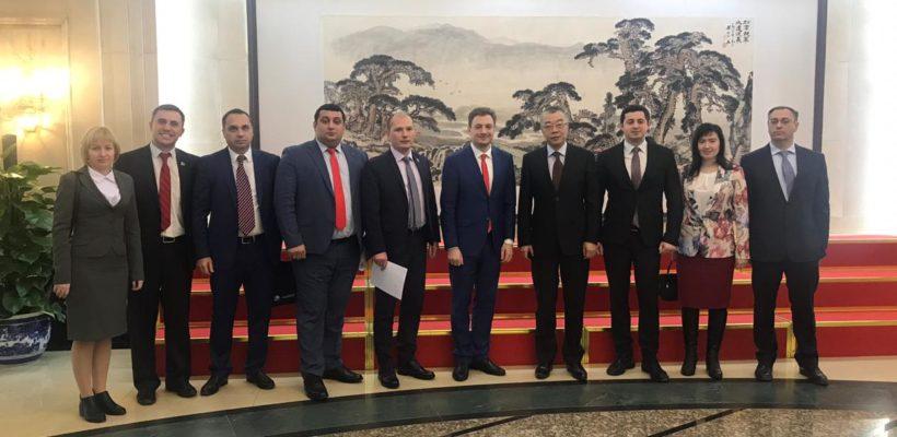 Делегация коммунистов находится с визитом в Китайской народной республике