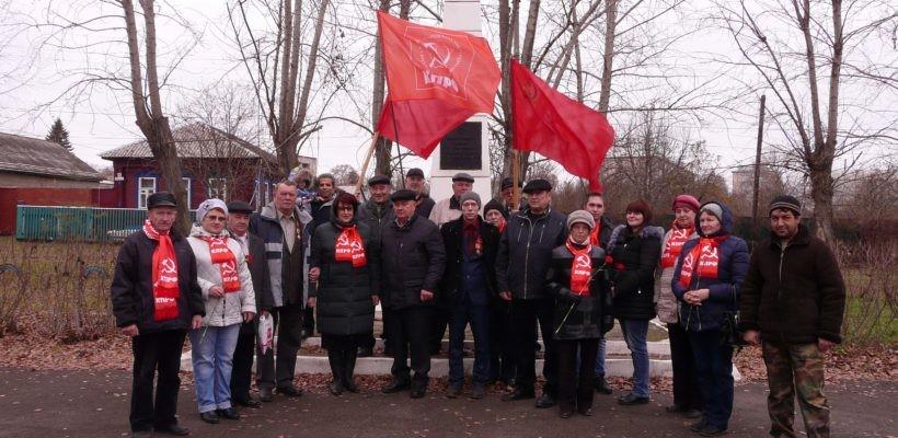 В Сасово прошёл автопробег в честь столетия Великой Октябрьской социалистической революции