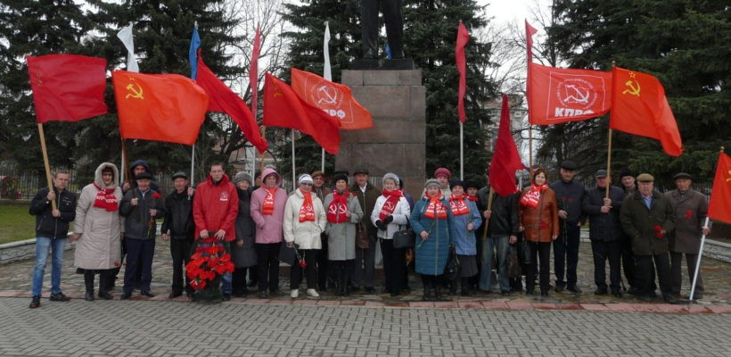 День рождения В.И. Ленина в Сасово