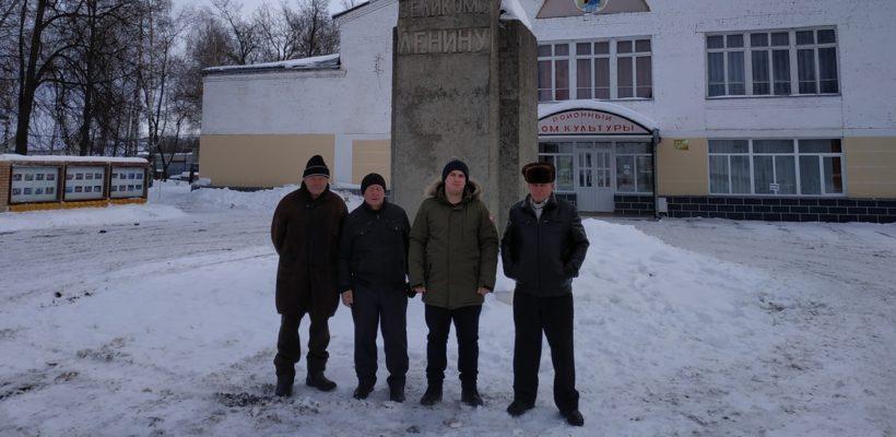 В Сараях почтили память В.И. Ленина
