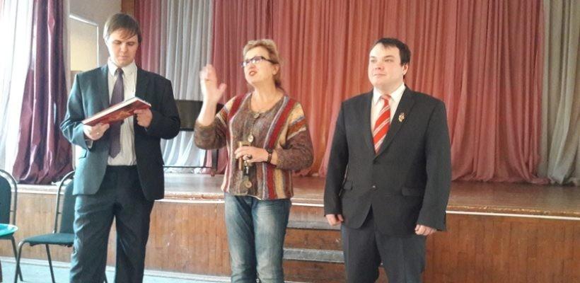 Коммунисты встретились с преподавателями и учащимися педагогического колледжа