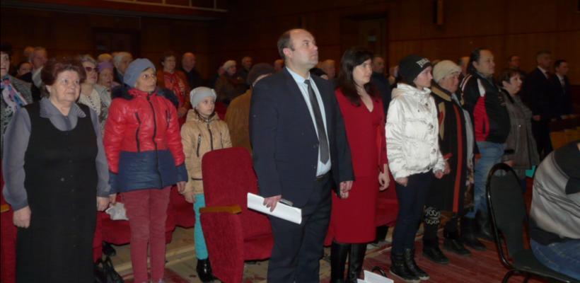 В Сасово состоялся совместный Пленум городского Комитета и КРК