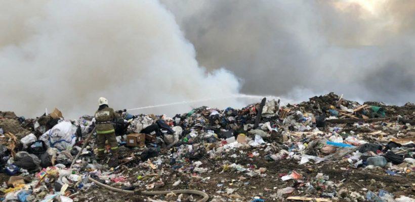 Пожар на городской свалке оставил после себя горький дым и массу вопросов