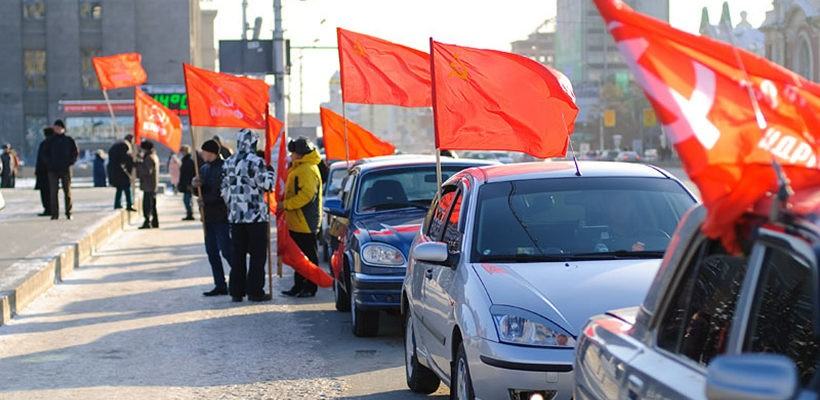 Автопробег против плохих дорог в Рязани