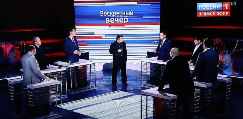 Семеро на одного. Юрий Афонин на «России-1» отстоял правду и программу Грудинина