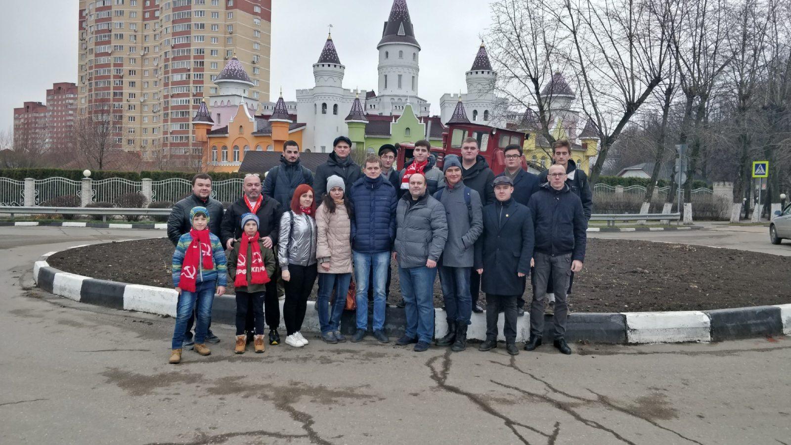 Рязанские коммунисты посетили с экскурсией Совхоз имени Ленина