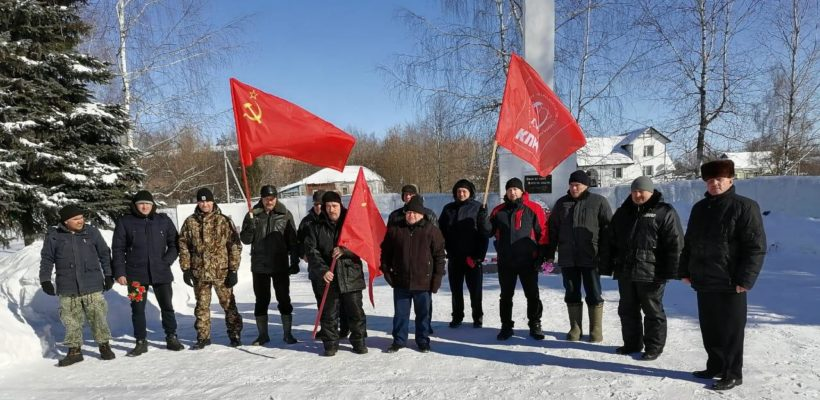 День Советской Армии и Военно-Морского флота в Чучково